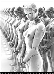 robot femmina
