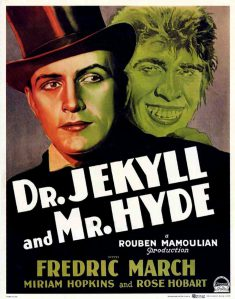 dr-jekyll-and-mr-hyde doppiapersonalità cinema superpoteri vintage